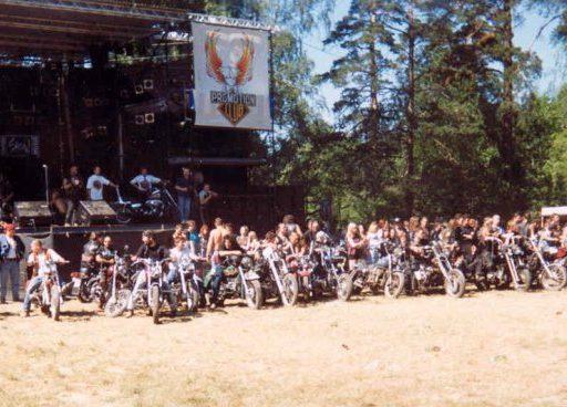 1-е Байк-Шоу. Москва. 1995