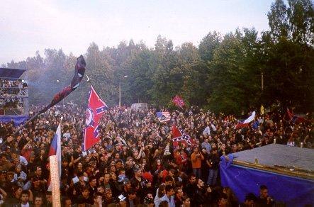 4-е Байк-Шоу. Москва. 1998