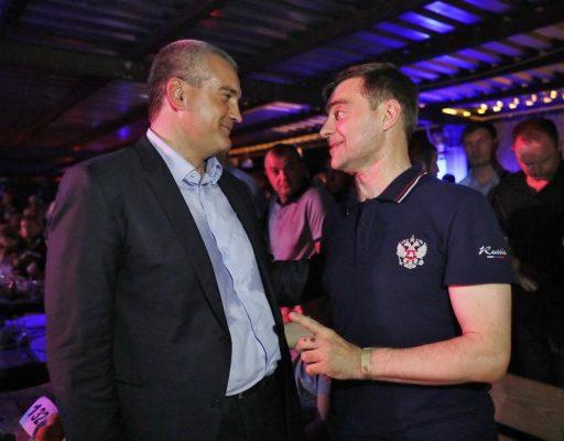 Глава Крыма Аксёнов посетил байк-шоу «Русский Реактор» мотоклуба «Ночные волки» в Севастополе (фоторепортаж)