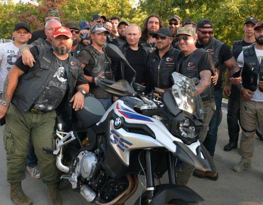 Посещение байк-шоу мотоклуба «Ночные волки»
