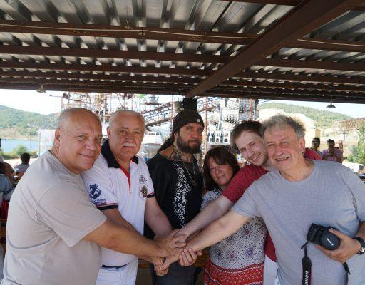 На гору Гасфорта прибыла группа немецких друзей – представителей проекта «Против забвения»
