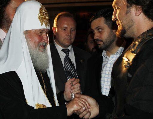 Хирург поздравил Патриарха Кирилла с днём Рождения.