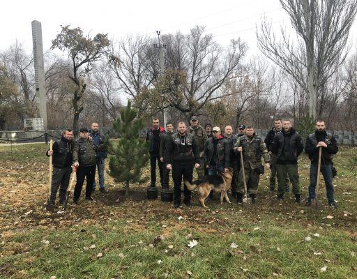 Русский Лес в Донбассе.