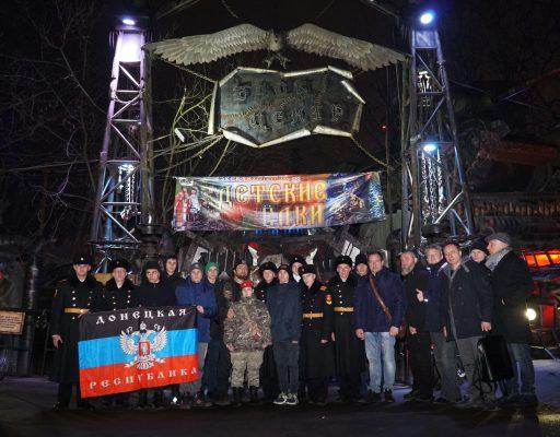 Вчера делегация детей с Донбасса побывала на репетиции Сказки в нашем Байк-Центре.