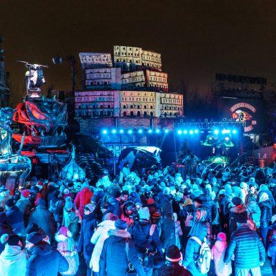 Вчера состоялась премьера Новогодней Сказки в Байк-Центре.