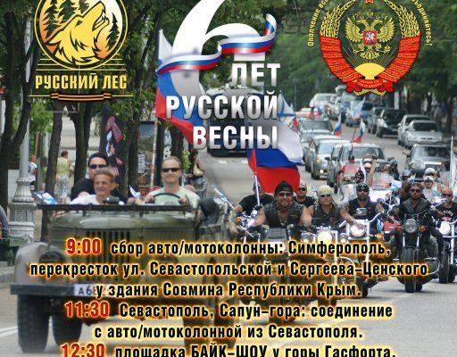 18 марта 2020 Празднование в честь 6-летия Русской Весны