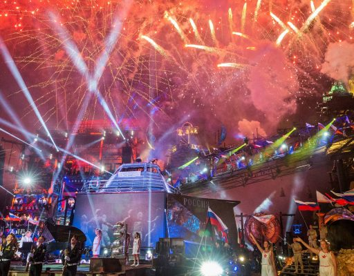 Под Севастополем проходит байк-шоу, посвященное 75-летию Победы