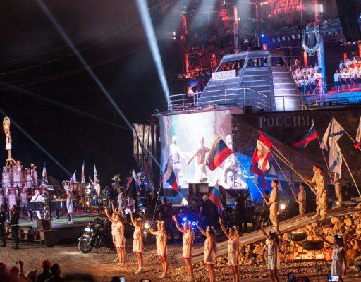 В Севастополе продолжается байк-шоу «Крах Вавилона»