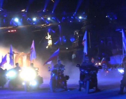 """Кульминацию байк-шоу """"Крах Вавилона"""" покажут в День города в Москве"""